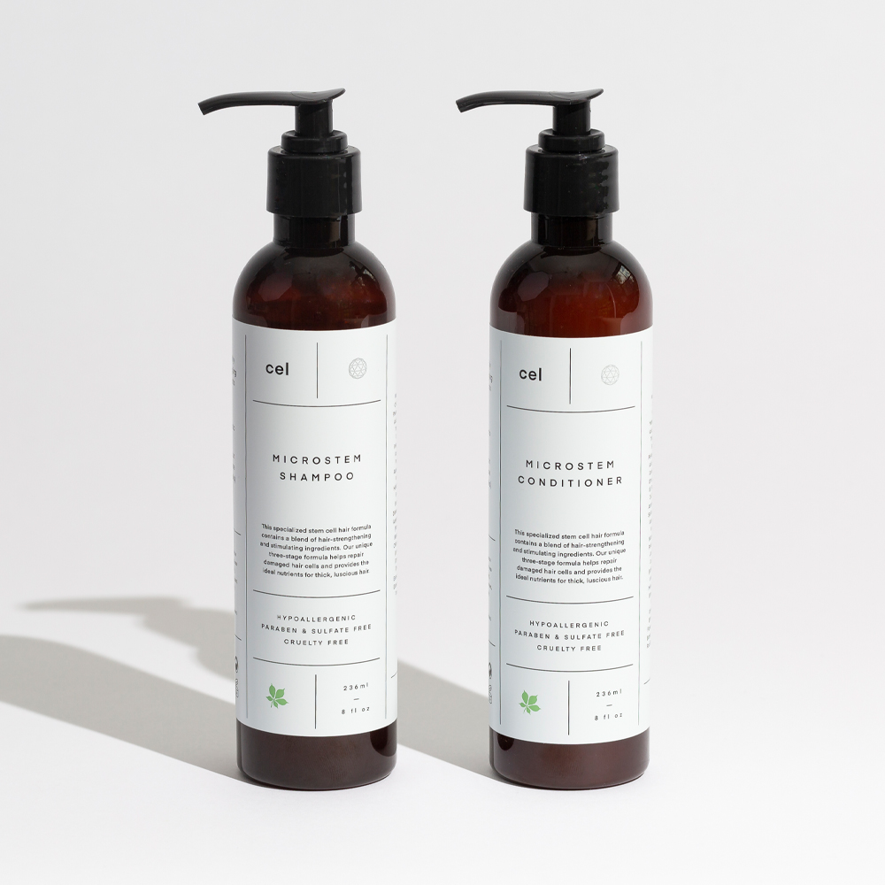 Cel Shampoo and Conditioner